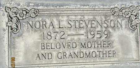 STEVENSON, NORA LAURA - Sutter County, California | NORA LAURA STEVENSON - California Gravestone Photos