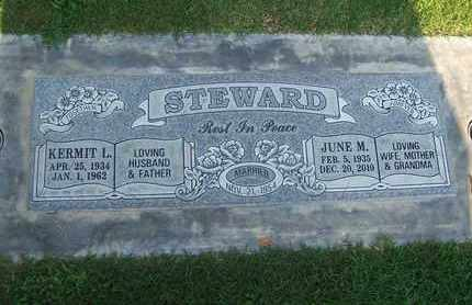 STEWARD, KERMIT L. - Sutter County, California | KERMIT L. STEWARD - California Gravestone Photos