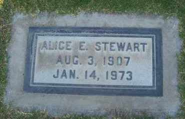 STEWART, ALICE ELIZABETH - Sutter County, California | ALICE ELIZABETH STEWART - California Gravestone Photos