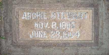 STEWART, ARCHIE - Sutter County, California   ARCHIE STEWART - California Gravestone Photos