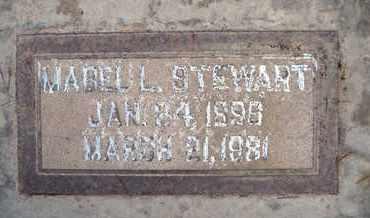 STEWART, MABEL LELA - Sutter County, California | MABEL LELA STEWART - California Gravestone Photos