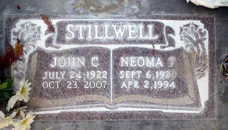 STILLWELL, SR., JOHN CALVIN - Sutter County, California | JOHN CALVIN STILLWELL, SR. - California Gravestone Photos