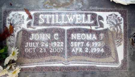 STILLWELL, NEOMA FRANCIS - Sutter County, California | NEOMA FRANCIS STILLWELL - California Gravestone Photos