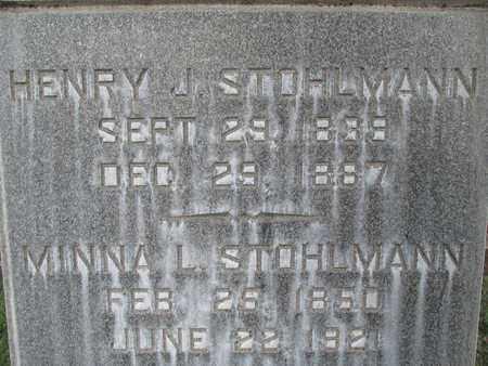 STOHLMANN, MINNA L. - Sutter County, California | MINNA L. STOHLMANN - California Gravestone Photos