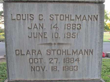 STOHLMANN, CLARA - Sutter County, California | CLARA STOHLMANN - California Gravestone Photos