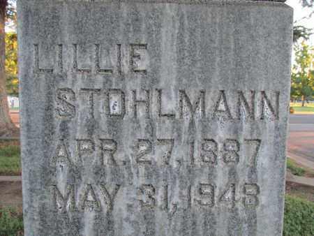 STOHLMANN, LILLIE - Sutter County, California | LILLIE STOHLMANN - California Gravestone Photos