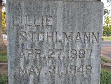 STOHLMANN, LILLIE - Sutter County, California | LILLIE STOHLMANN - California Gravestone Photos