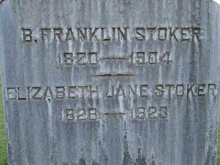 STOKER, B. FRANKLIN - Sutter County, California | B. FRANKLIN STOKER - California Gravestone Photos