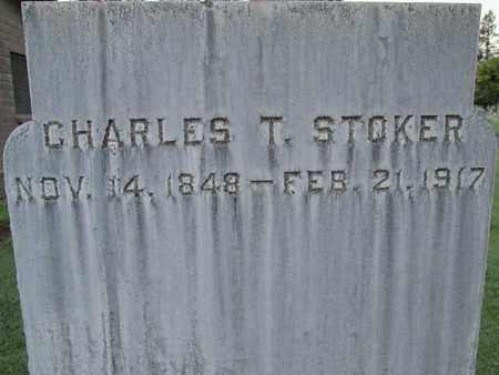 STOKER, CHARLES T. - Sutter County, California | CHARLES T. STOKER - California Gravestone Photos