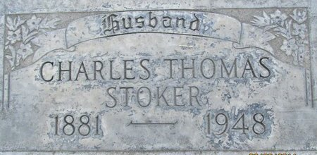 STOKER, CHARLES THOMAS - Sutter County, California | CHARLES THOMAS STOKER - California Gravestone Photos