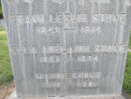 STONE, ELLA ADELAIDE - Sutter County, California | ELLA ADELAIDE STONE - California Gravestone Photos