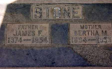 STONE, JAMES FRANK - Sutter County, California | JAMES FRANK STONE - California Gravestone Photos