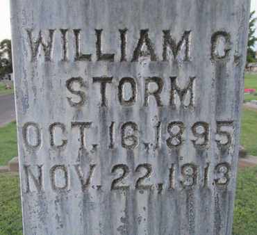 STORM, WILLIAM C. - Sutter County, California | WILLIAM C. STORM - California Gravestone Photos