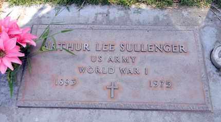 SULLENGER, ARTHUR LEE - Sutter County, California | ARTHUR LEE SULLENGER - California Gravestone Photos