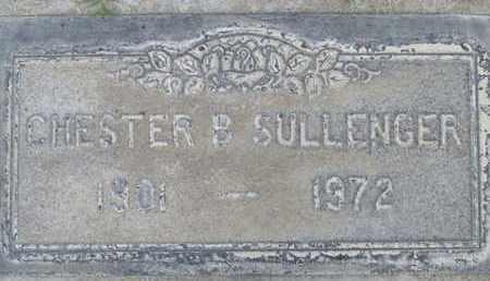SULLENGER, CHESTER B. - Sutter County, California | CHESTER B. SULLENGER - California Gravestone Photos