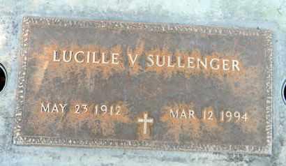 SULLENGER, LUCILLE V. - Sutter County, California   LUCILLE V. SULLENGER - California Gravestone Photos