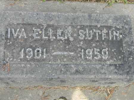 SUTFIN, IVA ELLEN - Sutter County, California | IVA ELLEN SUTFIN - California Gravestone Photos