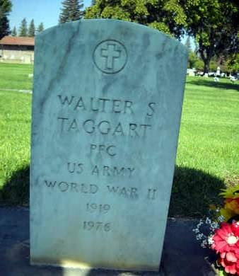 TAGGART, WALTER S. - Sutter County, California   WALTER S. TAGGART - California Gravestone Photos