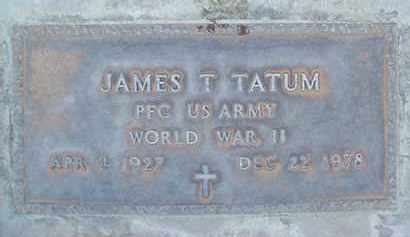 TATUM, JAMES T. - Sutter County, California | JAMES T. TATUM - California Gravestone Photos