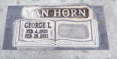 VAN HORN, GEORGE L. - Sutter County, California | GEORGE L. VAN HORN - California Gravestone Photos