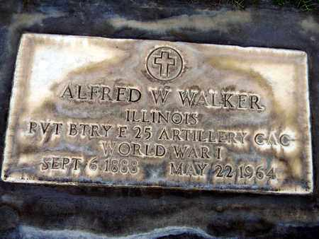 WALKER, ALFRED WILLIAM - Sutter County, California | ALFRED WILLIAM WALKER - California Gravestone Photos