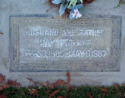 WALKER, RAY - Sutter County, California | RAY WALKER - California Gravestone Photos