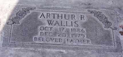 WALLIS, ARTHUR RAYMOND - Sutter County, California | ARTHUR RAYMOND WALLIS - California Gravestone Photos