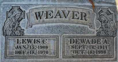 WEAVER, LEWIS CHAUNCEY - Sutter County, California | LEWIS CHAUNCEY WEAVER - California Gravestone Photos