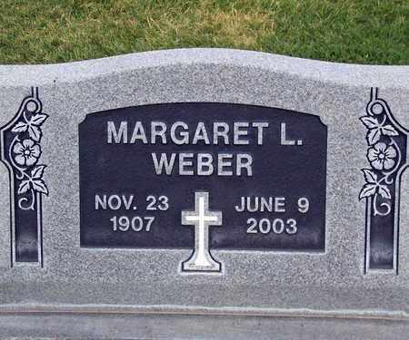 WEBER, MARGARET LOUISE - Sutter County, California | MARGARET LOUISE WEBER - California Gravestone Photos