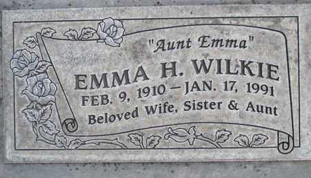 WILKIE, EMMA HENNRIETTA - Sutter County, California | EMMA HENNRIETTA WILKIE - California Gravestone Photos