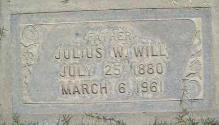 WILL, JULIUS WATSON - Sutter County, California   JULIUS WATSON WILL - California Gravestone Photos