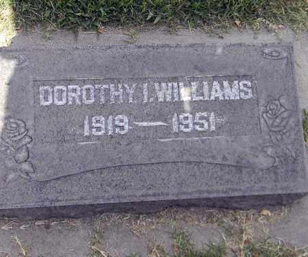 WILLIAMS, DOROTHY IRENE - Sutter County, California | DOROTHY IRENE WILLIAMS - California Gravestone Photos