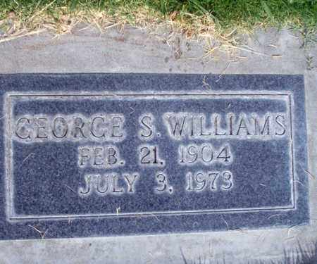 WILLIAMS, GEORGE SAMUEL - Sutter County, California | GEORGE SAMUEL WILLIAMS - California Gravestone Photos