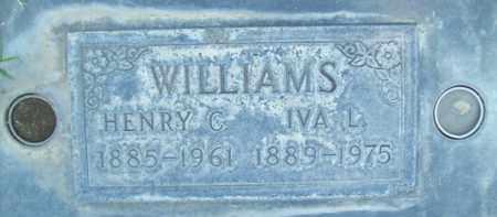 WILLIAMS, HENRY C. - Sutter County, California   HENRY C. WILLIAMS - California Gravestone Photos
