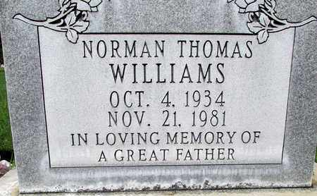 WILLIAMS, NORMAN THOMAS - Sutter County, California | NORMAN THOMAS WILLIAMS - California Gravestone Photos