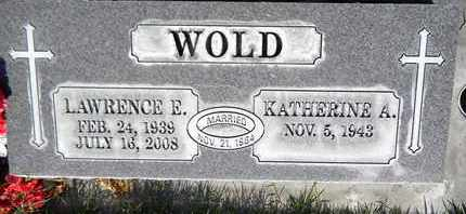 WOLD, KATHERINE A. - Sutter County, California   KATHERINE A. WOLD - California Gravestone Photos
