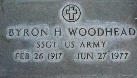 WOODHEAD, BYRON HENRY - Sutter County, California   BYRON HENRY WOODHEAD - California Gravestone Photos