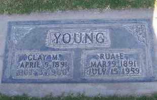 YOUNG, CLAY MERVIN - Sutter County, California | CLAY MERVIN YOUNG - California Gravestone Photos