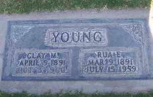 YOUNG, RUA EMILY - Sutter County, California | RUA EMILY YOUNG - California Gravestone Photos