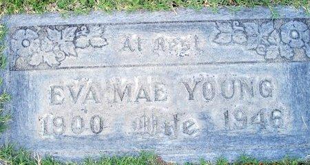 YOUNG, EVA MAE - Sutter County, California   EVA MAE YOUNG - California Gravestone Photos