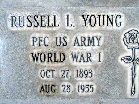 YOUNG, RUSSELL LAWHEAD - Sutter County, California | RUSSELL LAWHEAD YOUNG - California Gravestone Photos