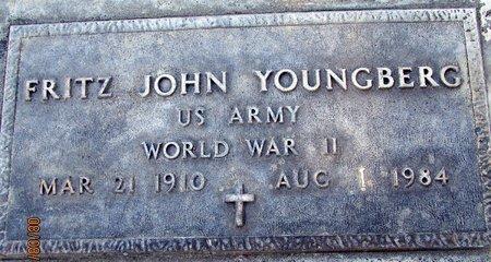 YOUNGBERG, FRITZ JOHN - Sutter County, California | FRITZ JOHN YOUNGBERG - California Gravestone Photos