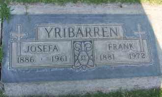 YRIBARREN, JOSEFA - Sutter County, California | JOSEFA YRIBARREN - California Gravestone Photos