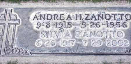 ZANOTTO, ANDREA HENRY - Sutter County, California | ANDREA HENRY ZANOTTO - California Gravestone Photos