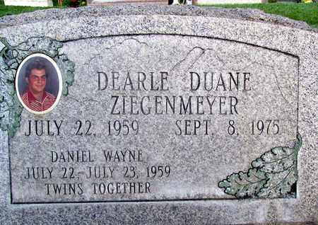 ZIEGENMEYER, DEARLE DUANE - Sutter County, California | DEARLE DUANE ZIEGENMEYER - California Gravestone Photos