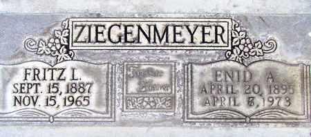ZIEGENMEYER, ENID ALINORE - Sutter County, California | ENID ALINORE ZIEGENMEYER - California Gravestone Photos