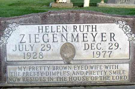 ZIEGENMEYER, HELEN RUTH - Sutter County, California | HELEN RUTH ZIEGENMEYER - California Gravestone Photos
