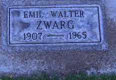 ZWARG, EMIL WALTER - Sutter County, California | EMIL WALTER ZWARG - California Gravestone Photos