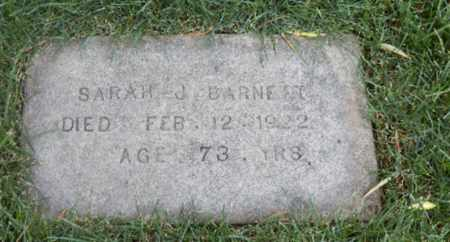 BARNETT, SARAH - Yolo County, California   SARAH BARNETT - California Gravestone Photos
