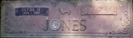 MANESS JONES, OPAL A. - Yuba County, California   OPAL A. MANESS JONES - California Gravestone Photos